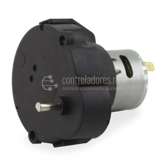 Motoriduttore 0.4-0.5 rpm -12V - 4 diametro mm