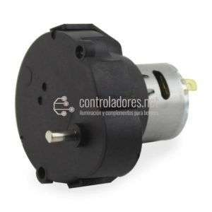 Motor reductor. 10 r.p.m. - 12V - 4 mm de diámetro