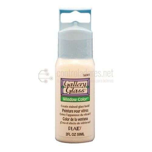 Window Color Gallery Glass BLANCO TRANSP. (59ml.)