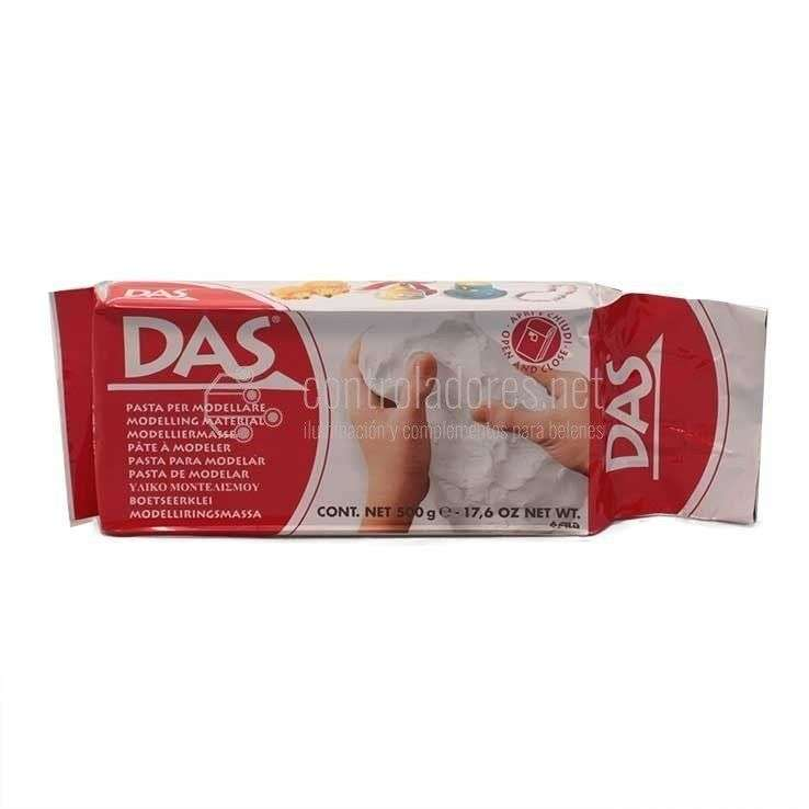 Pasta para modelar DAS (blanca)- 1/2 kilo