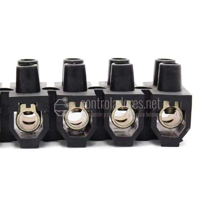 Clema o regleta de conexión 25mm
