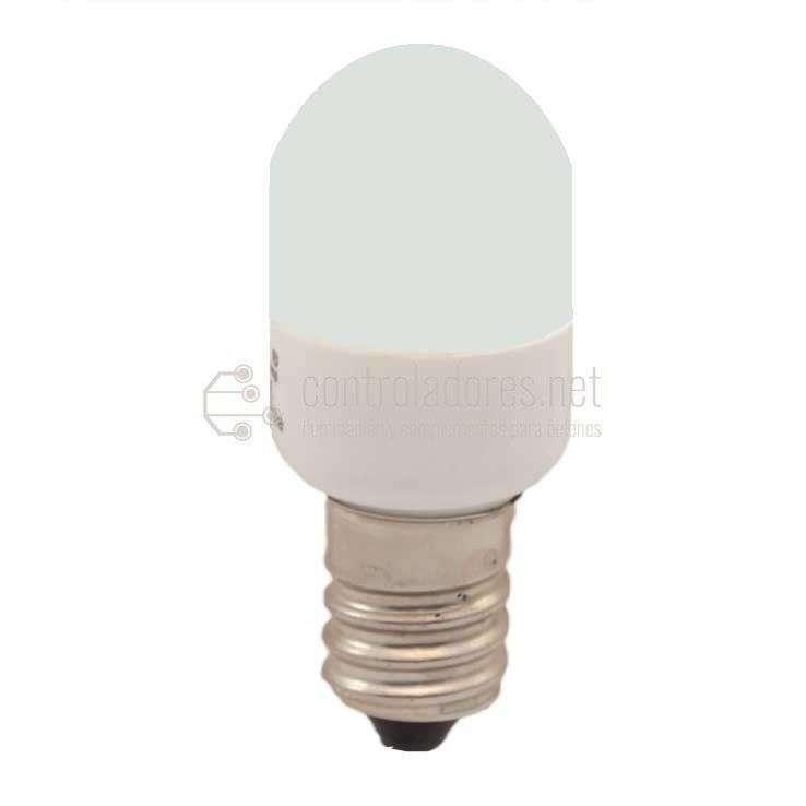 Lámpara 3 leds E14 220V 0.3W BLANCA