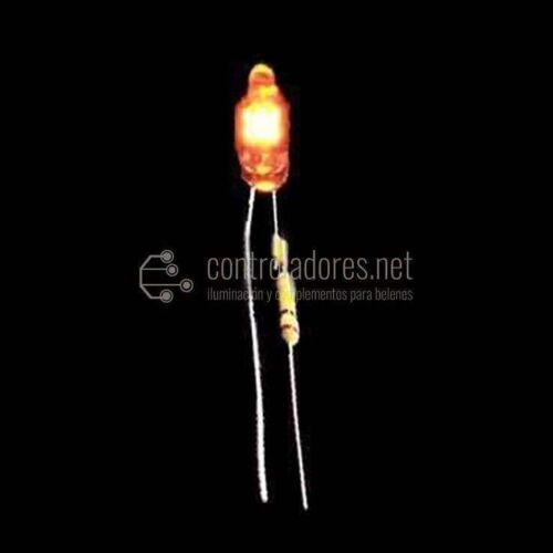 Lampada al neon ROSSA 4mm-220V (unità 5)