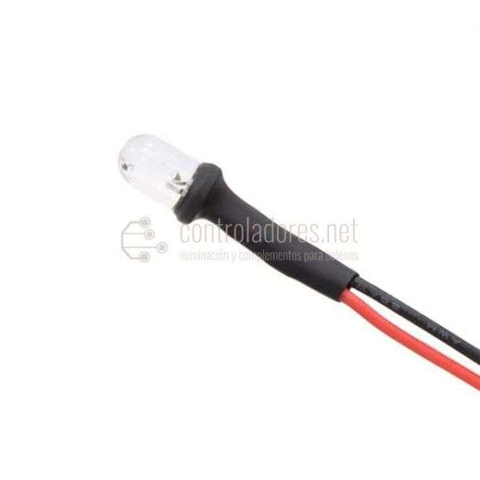 LED 3V c.c. BLANCO con cable