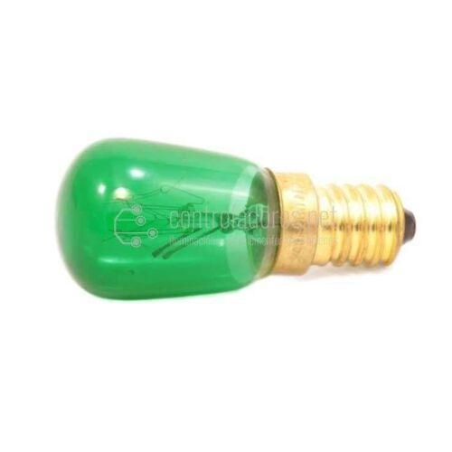 Lámpara 10W de 220V E14 VERDE