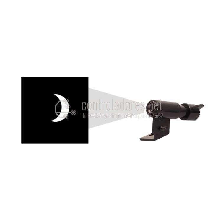 Miniproyector LED CUARTO DE LUNA sin lámpara