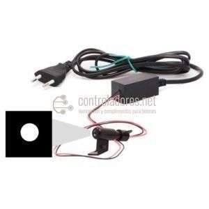 Mini proyector LED LUNA LLENA 220V con enchufe