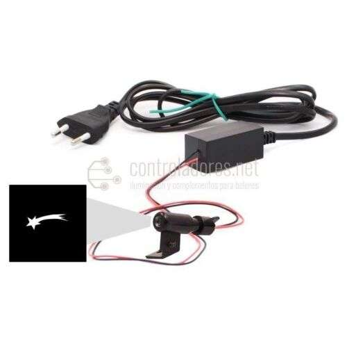 Mini proyector LED COMETA 220V con enchufe