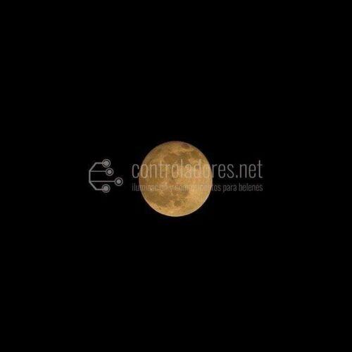 Diapositiva luna llena grande