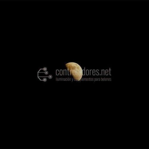 Piccolo diapositiva del quarto di luna
