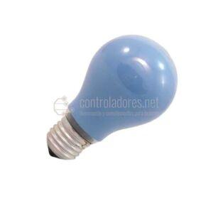 Lámpara esférica de 25W- 220V E27 AZUL