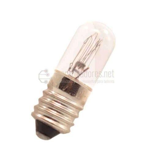Lámpara de 2W 12V E10 BLANCA