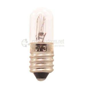 Lámpara de 3W 220V E10 BLANCA