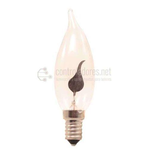 Lámpara de vela oscilante grande