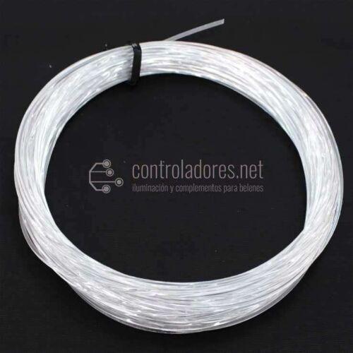 Rollo hilo de fibra óptica 1mm de diámetro