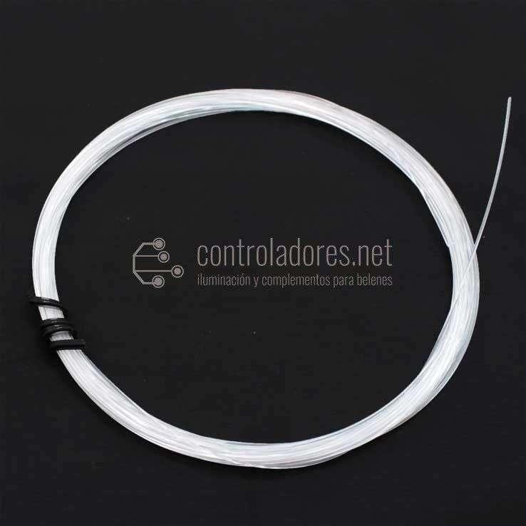 Rollo hilo de fibra óptica 0,75mm de diámetro
