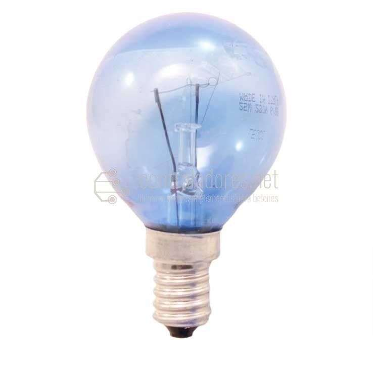 Lámpara 25W E14 220V Repuesto iluminador fibra óptica