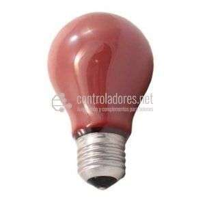 Lámpara estándar 40W Roja