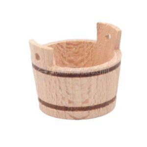 Barreño de madera mediano (3 cm)