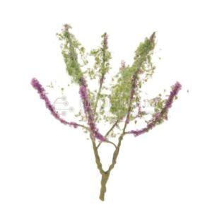Árbol en flor. Morado (4cm.)