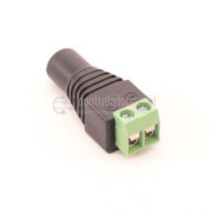 Conector adaptador Jack 2.1x5.5mm DC