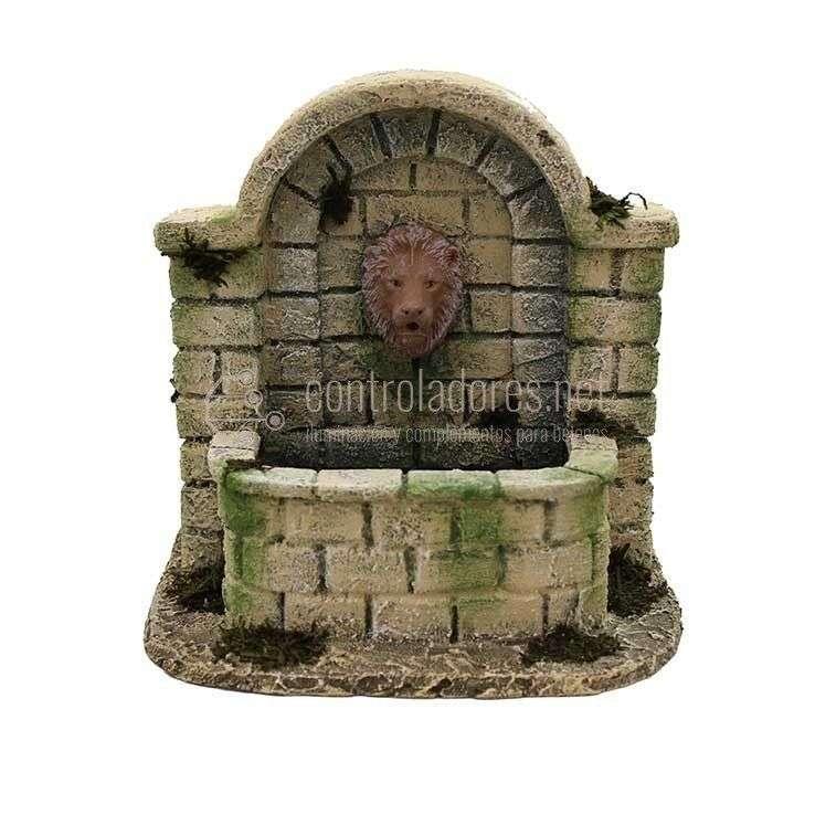 Fuente grande cabeza de León