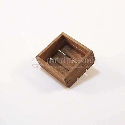 Caja de madera tablas envejecida