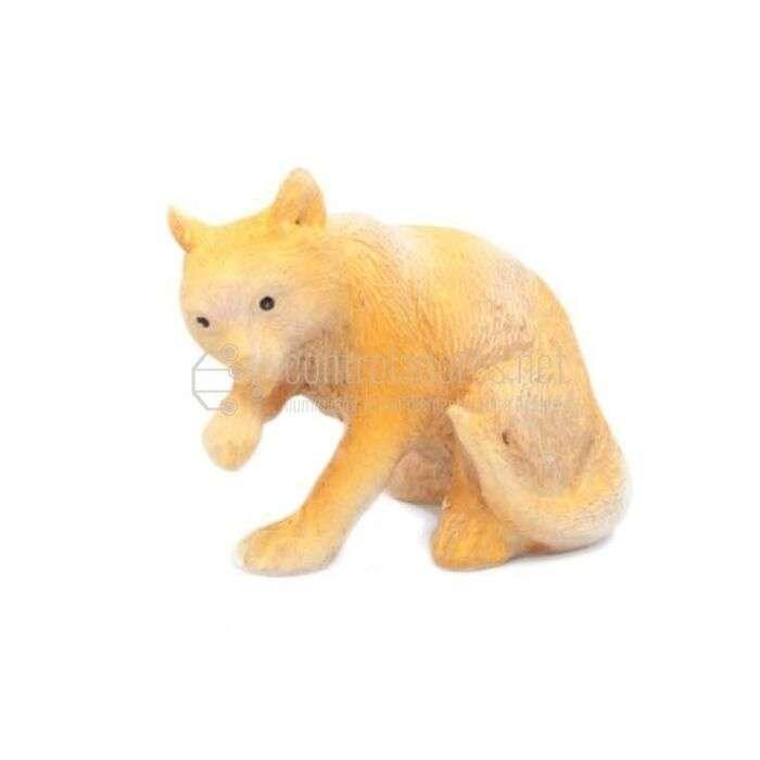 Gato grande de resina (4 cm)
