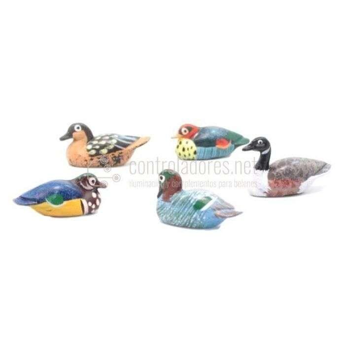 Patos de colores