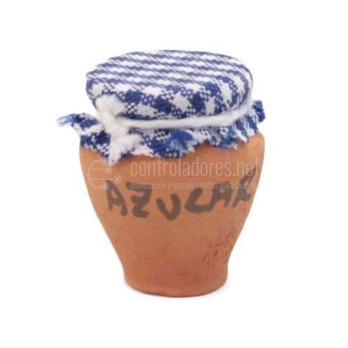 Tarro de cerámica(miel, harina, azúcar) pequeño