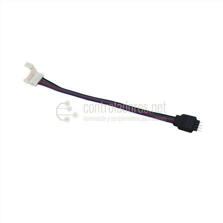 Latiguillo de conexión MACHO a tira LED GRB