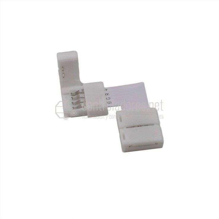 Conexión 90º para tira LED RGB