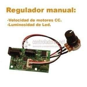 Regulador de velocidad motores c.c.