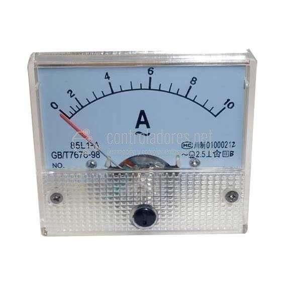 Amperímetro 10A CC