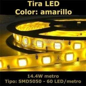 Tira LED AMARILLO 60LED/metro-14.4W/m