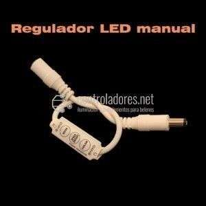 Regulador LED manual de 1 canal con Jack