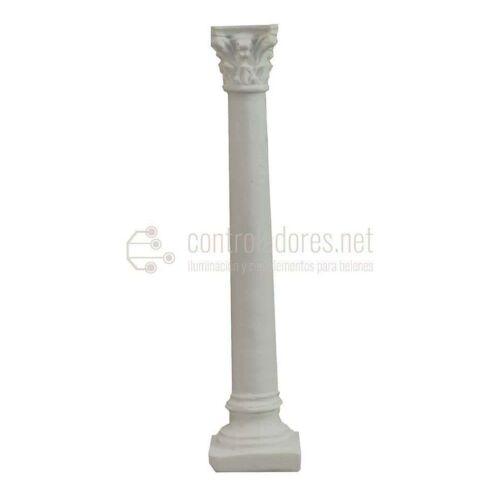 Columna blanca de resina ( 15cm.)
