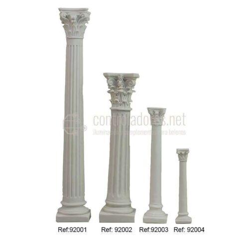 Columna blanca de resina ( 29cm.)