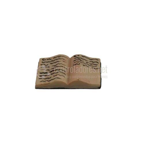 Libro abierto de resina