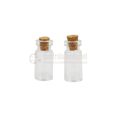 Botes de cristal ( 2 unidades)