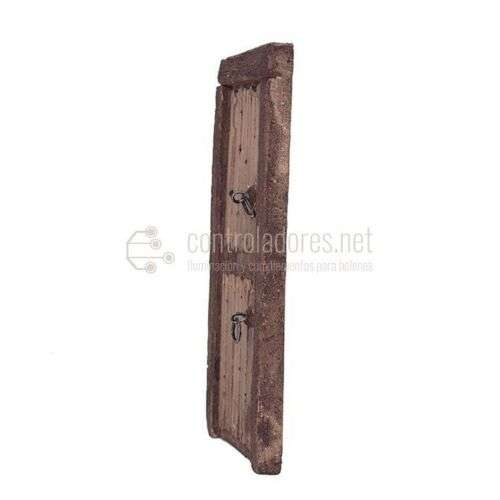 Puerta con bastidor rústica(Modelo 2)