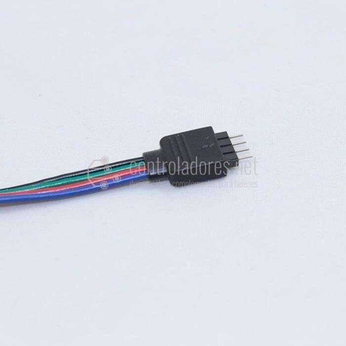Conector GRB 4 pin doble ( 6 unidades)