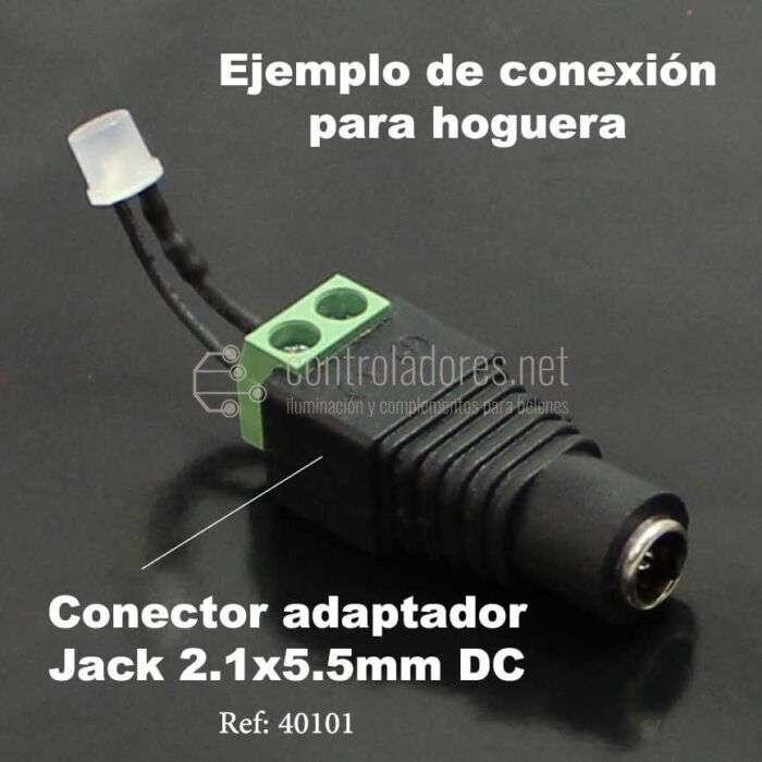 LED 3mm 12V NARANJA efecto llama