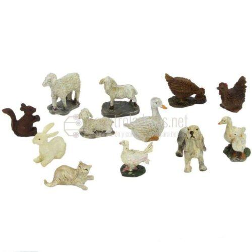 Grupo de animales (12 unidades)
