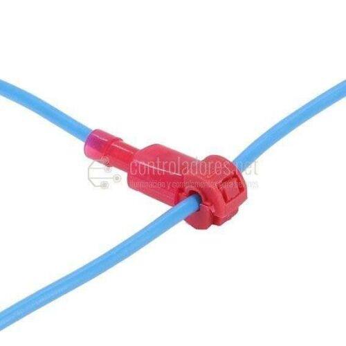 Pareja conexión rápida faston para cable 0.5-1mm2