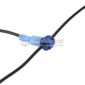 Pareja conexión rápida faston para cable 1-2.5mm2