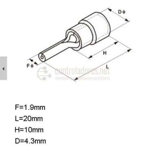 Terminale per cavo 0.5-1.5mm2