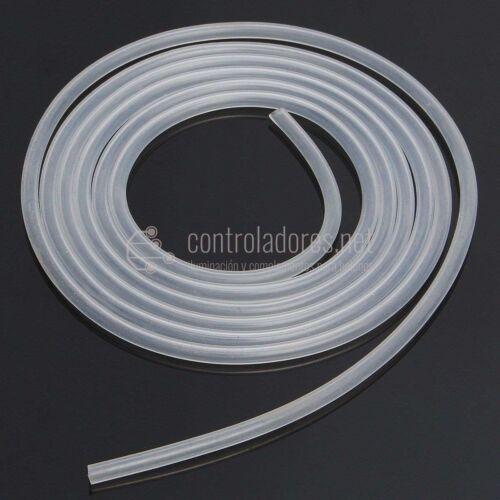 Tubo de silicona 2 x 4 mm