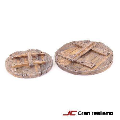 Set di copertine in legno