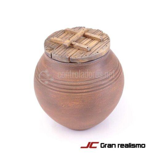 Ceramica con coperchio in legno